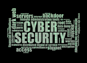 Cyber Liability Insurance Raleigh NC - Various terms related to cyber security arranged into a cluster