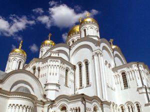 Cyber Liability Insurance Charlotte NC - White church with golden domes